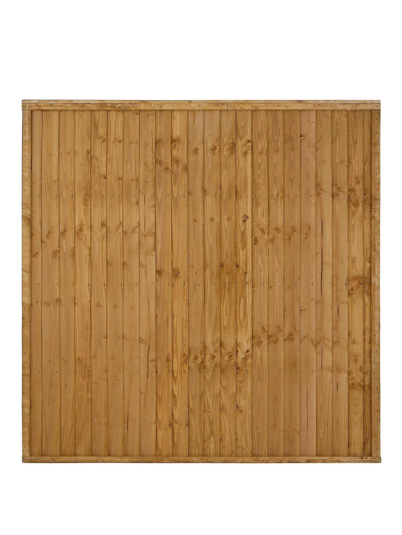 FOREST Garden Closeboard Fence Panels 1.8 x 1.22m High (6 Pack)