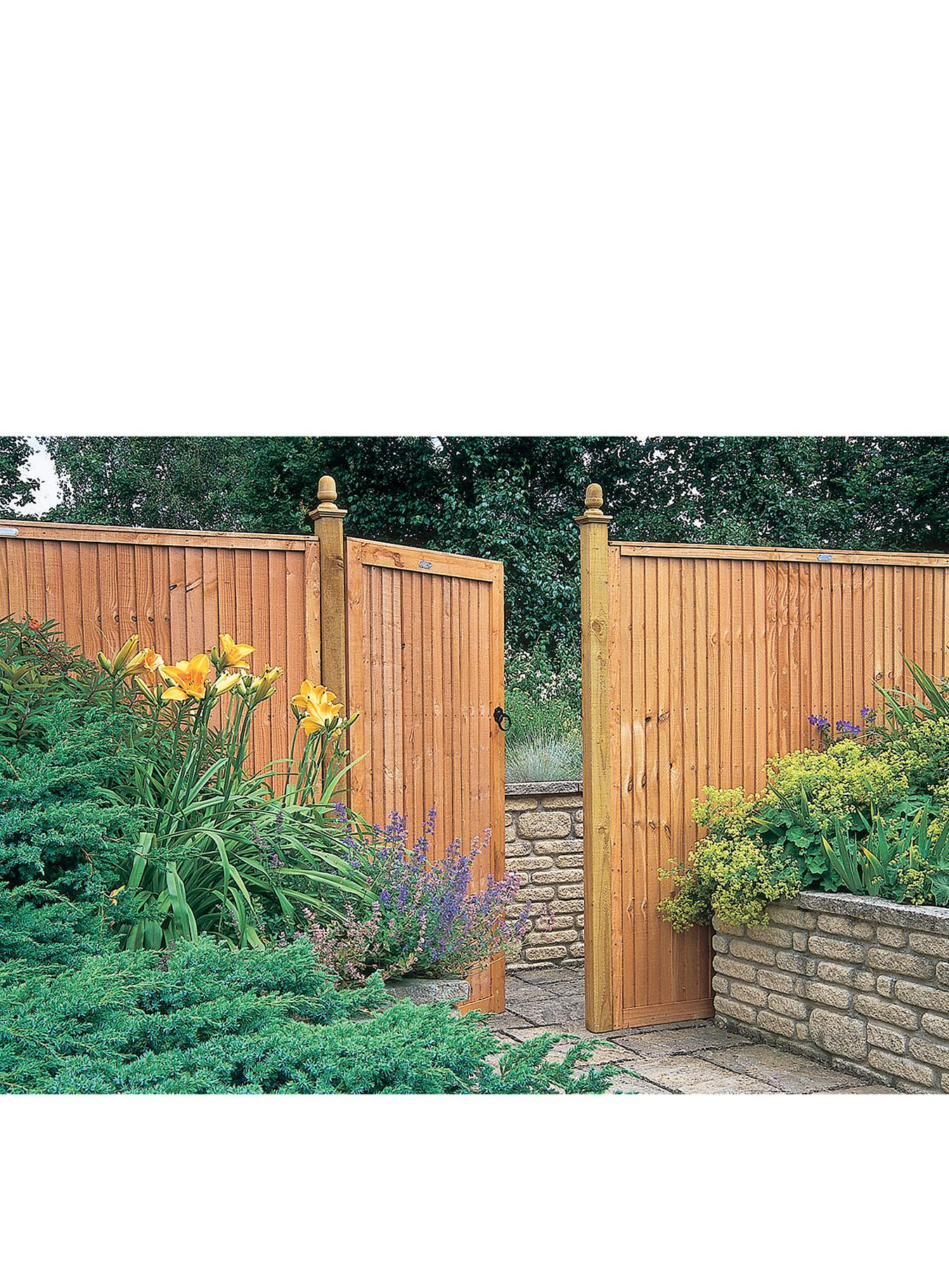 FOREST Garden Board Gate - 1.8m High