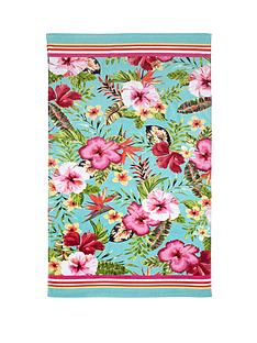 accessorize-vintage-tropical-beach-towel