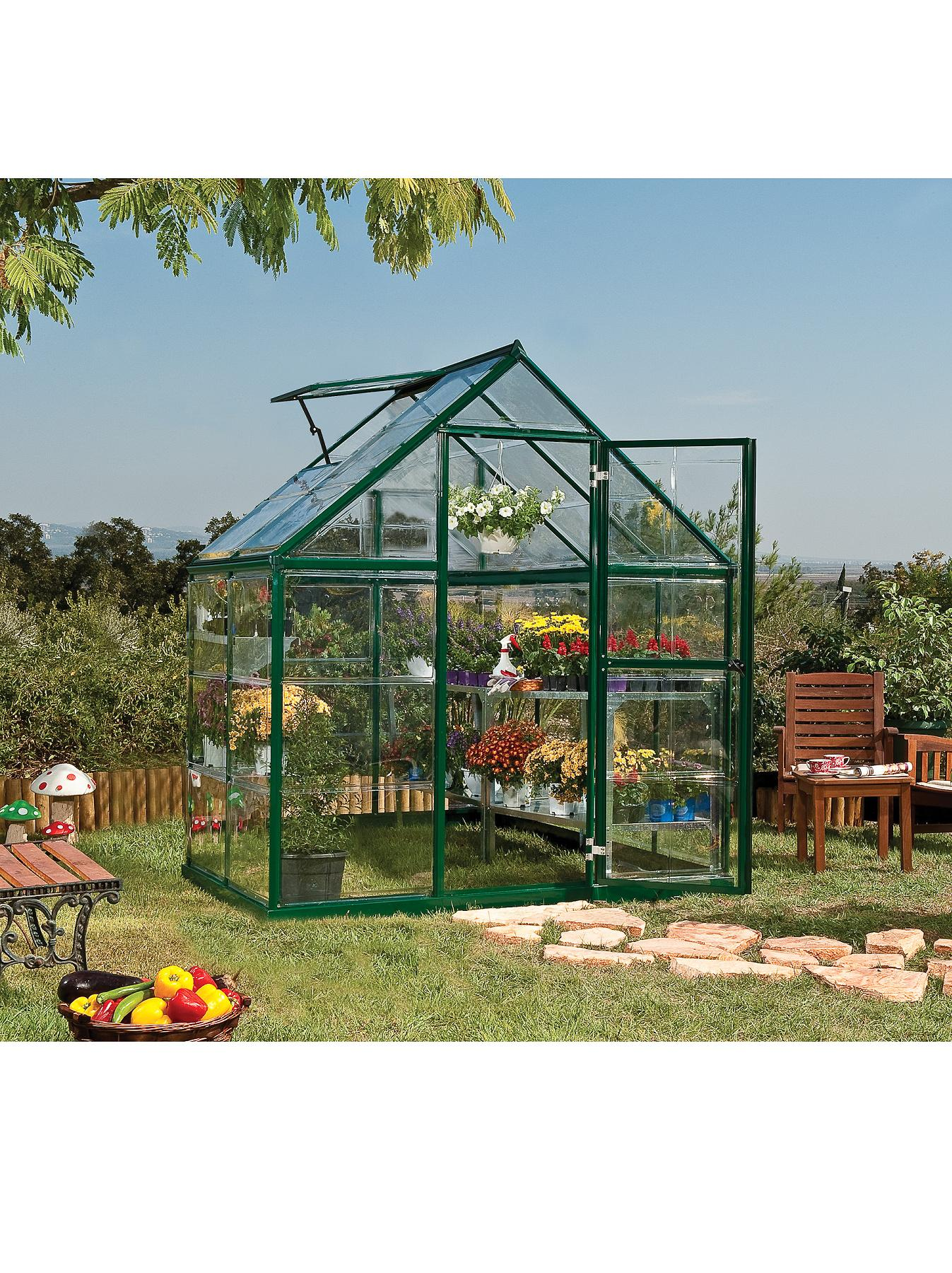 Palram Harmony 6 x 4ft Greenhouse
