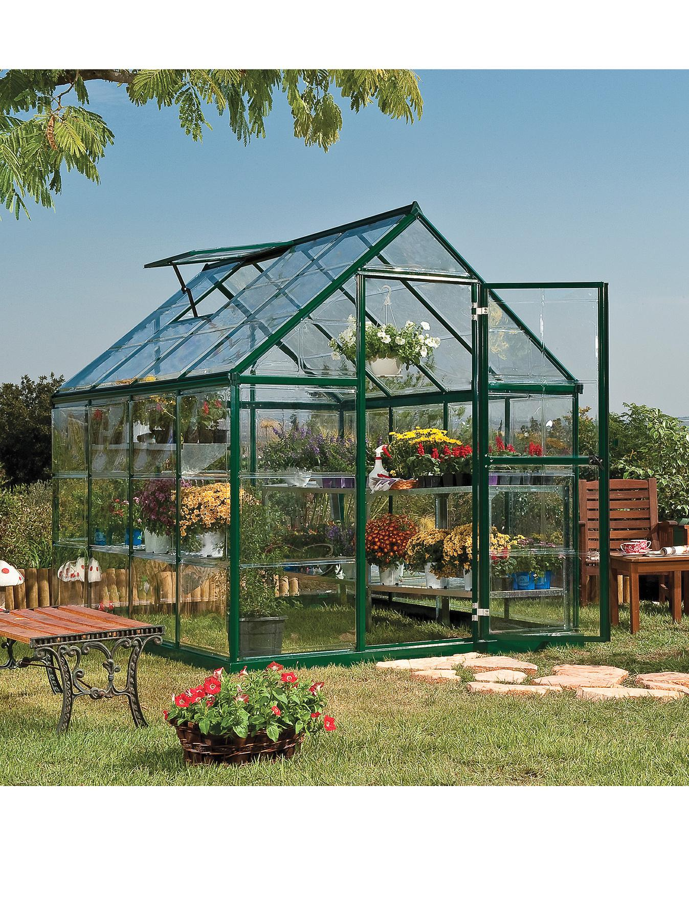 Palram Harmony 6 x 8ft Greenhouse