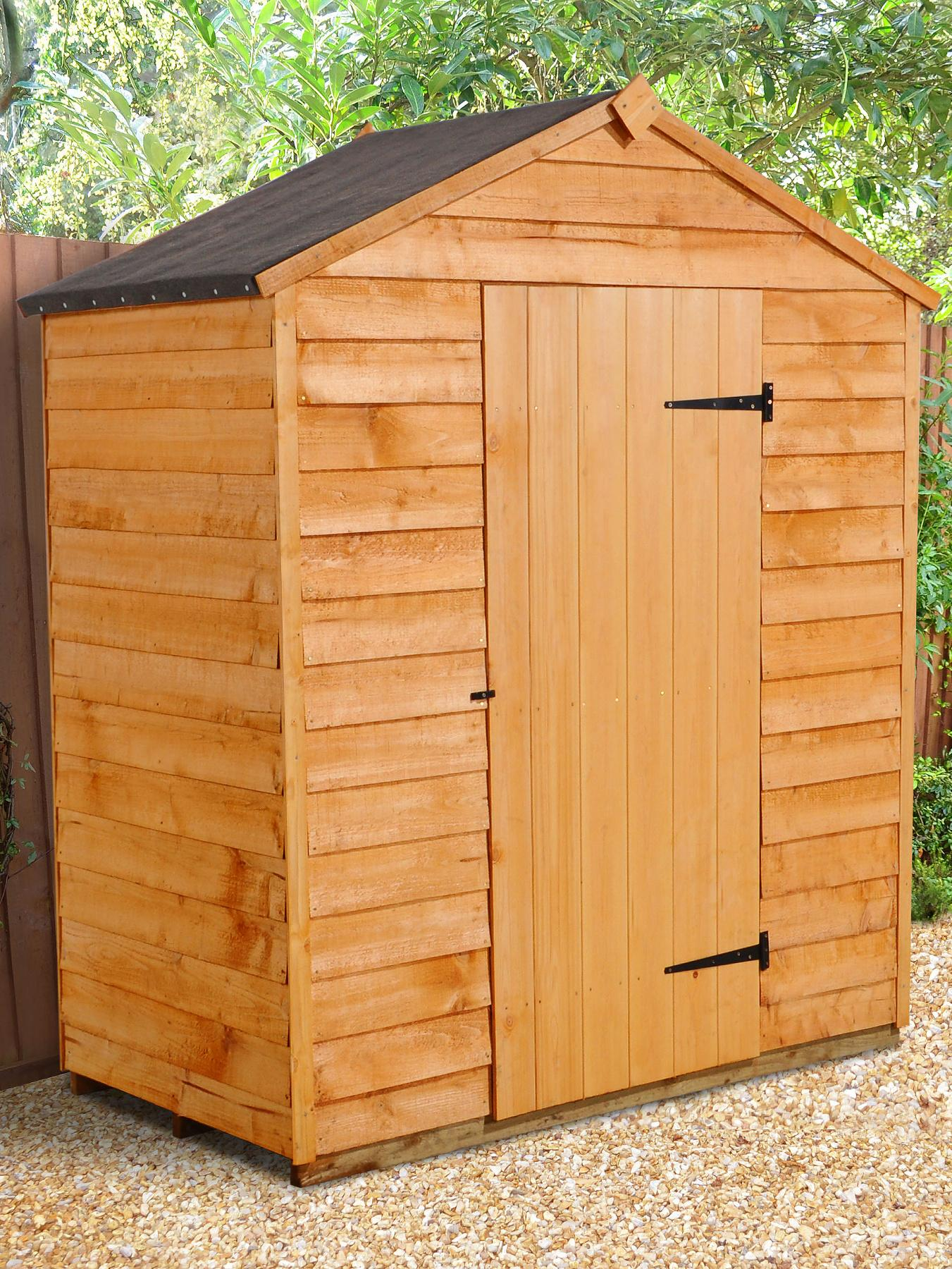 FOREST 5 x 3ft Starter Overlap Apex Shed