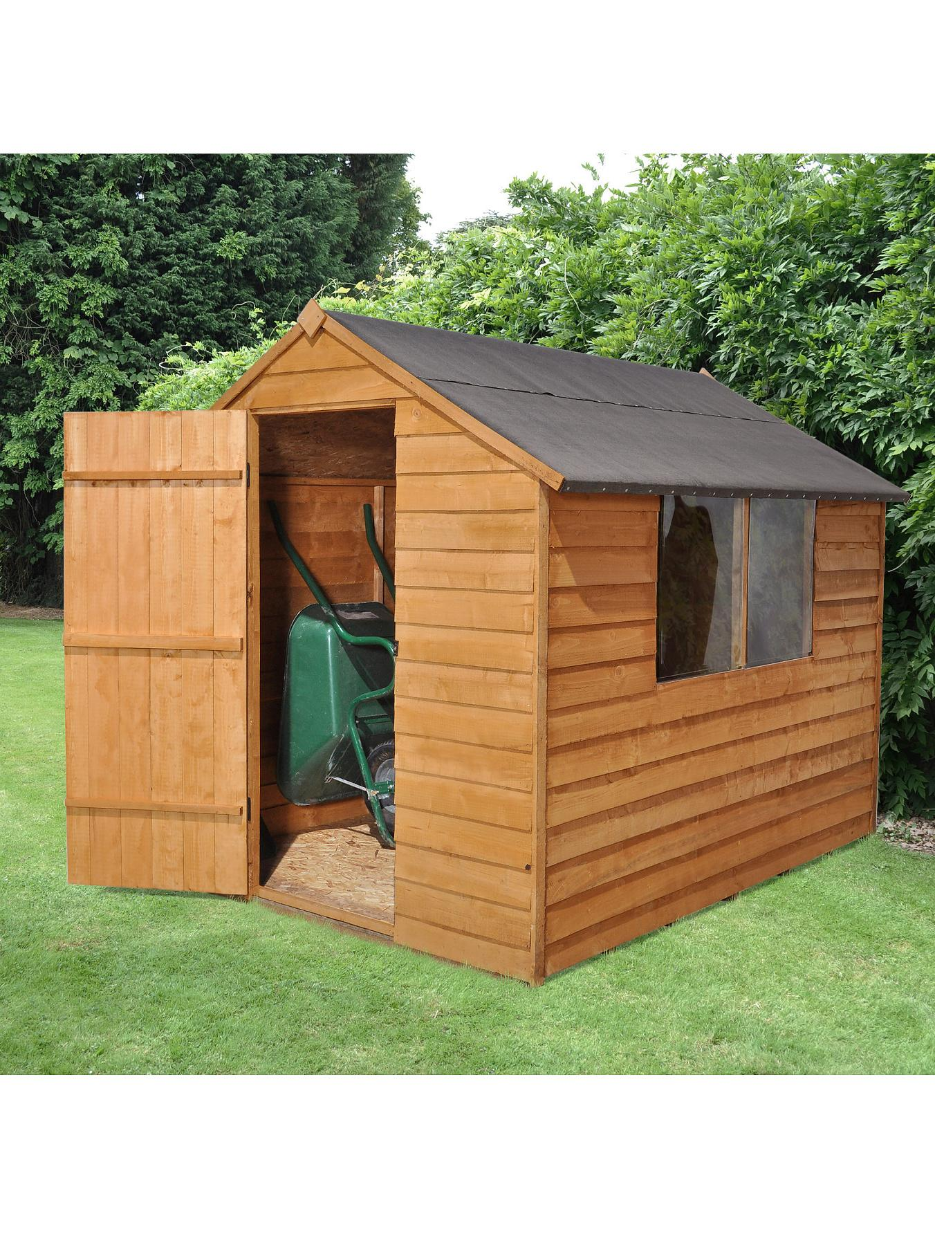 FOREST 6 x 8ft Essential Overlap Shed