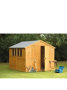 forest-10-x-8ft-tongue-and-groove-workshop-with-optional-assembly