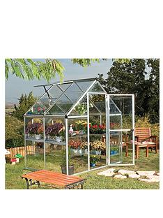 palram-harmony-6-x-4ft-greenhouse-silver