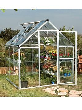 palram-harmony-6-x-6ft-greenhouse-silver