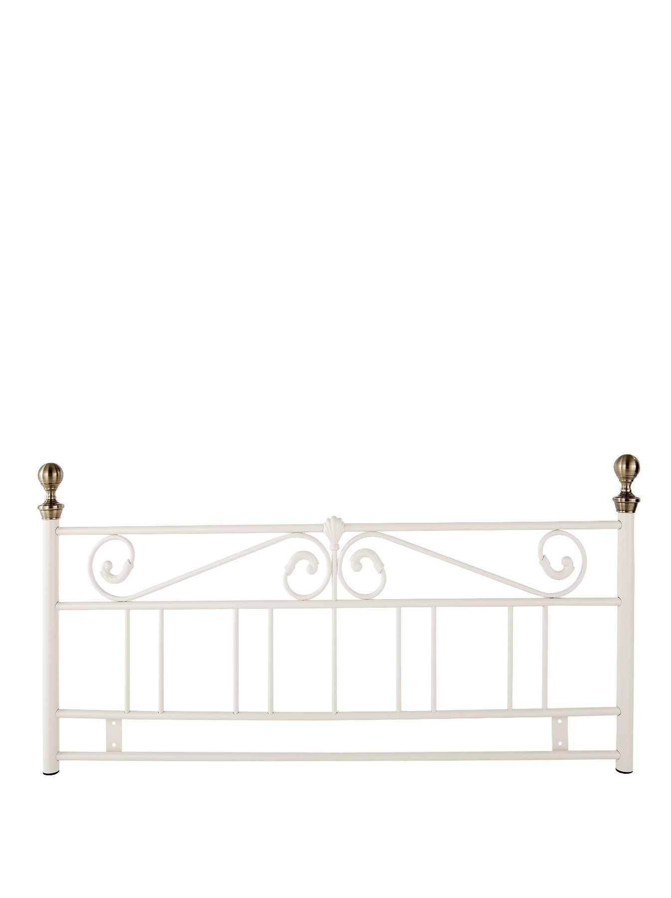Rosa Headboard - Black, Black,Cream