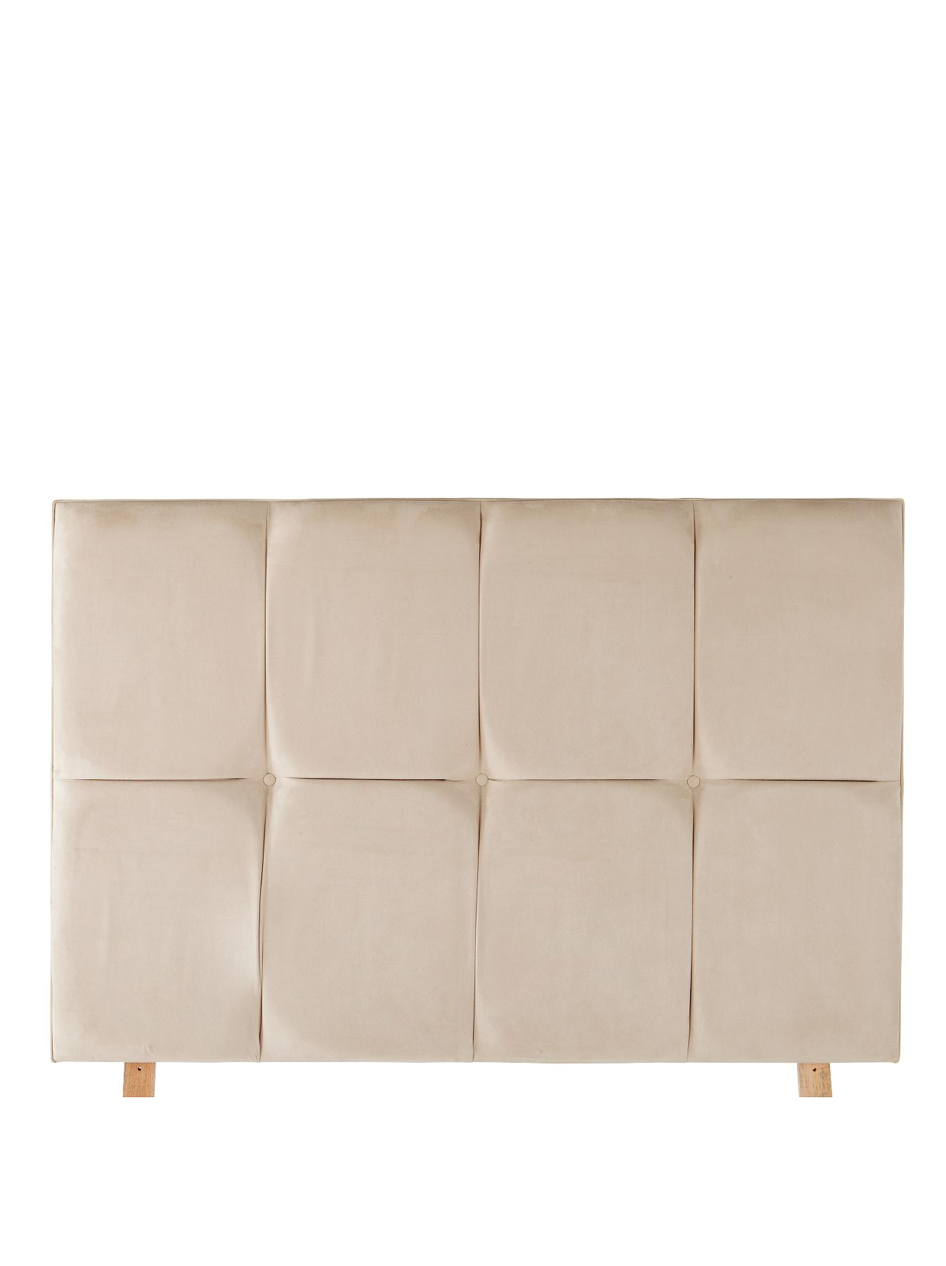 Estella Headboard - Plum, Plum,Grey