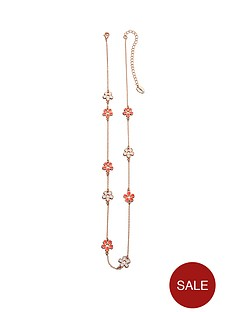 fiorelli-rose-gold-plated-white-and-coral-enamel-flower-pendant