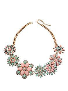 fiorelli-pastel-coloured-statement-flower-necklace