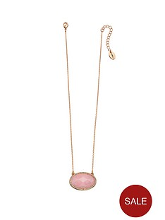 fiorelli-rose-gold-rose-quartz-and-clear-crystal-oval-pendant