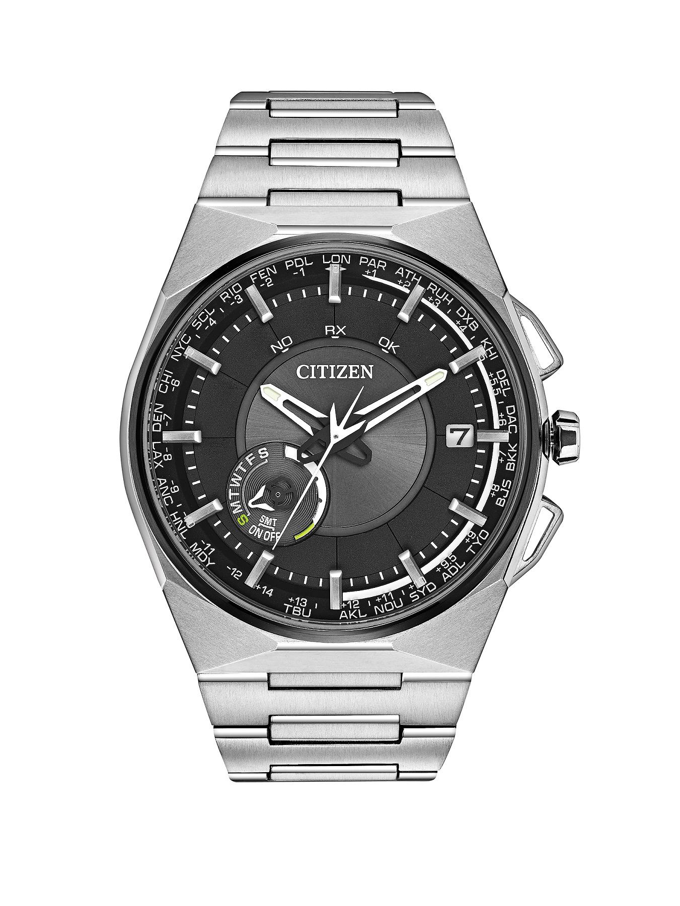 Citizen Eco-Drive Satellite Wave F100 Satellite Timekeeping Bracelet Mens Watch