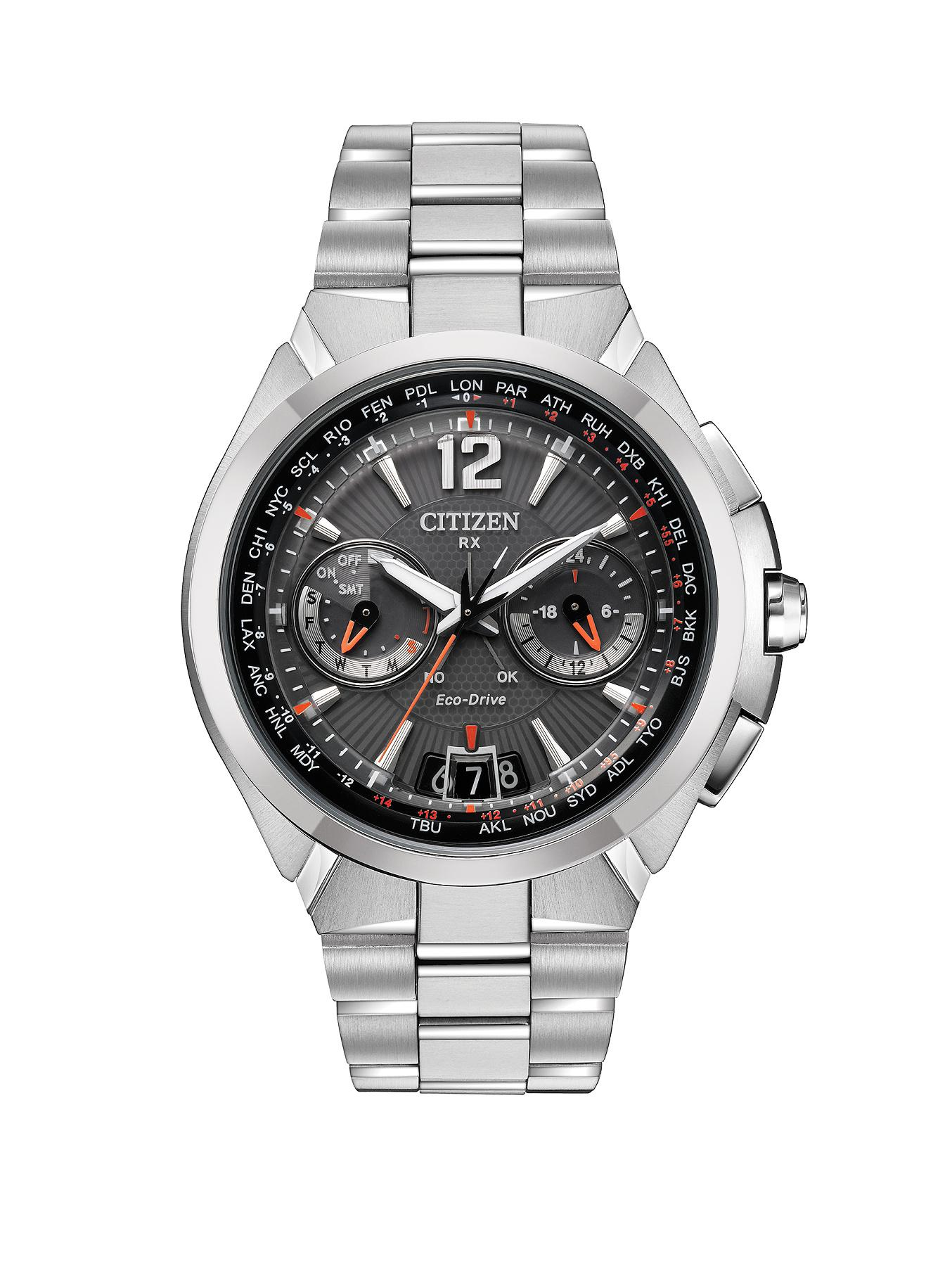Citizen Eco-Drive Satellite Wave Satellite Timekeeping Bracelet Mens Watch