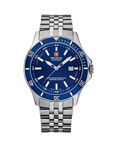 swiss-military-blue-dial-stainless-steel-mens-watch