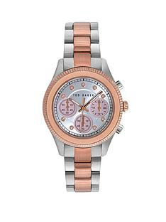 ted-baker-pink-crystal-chronograph-dial-two-tone-bracelet-ladies-watch