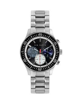 ted-baker-black-chronograph-dial-stainless-steel-bracelet-mens-watch