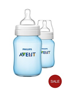 avent-classic-feeding-bottle-260ml9oz-twin-blue