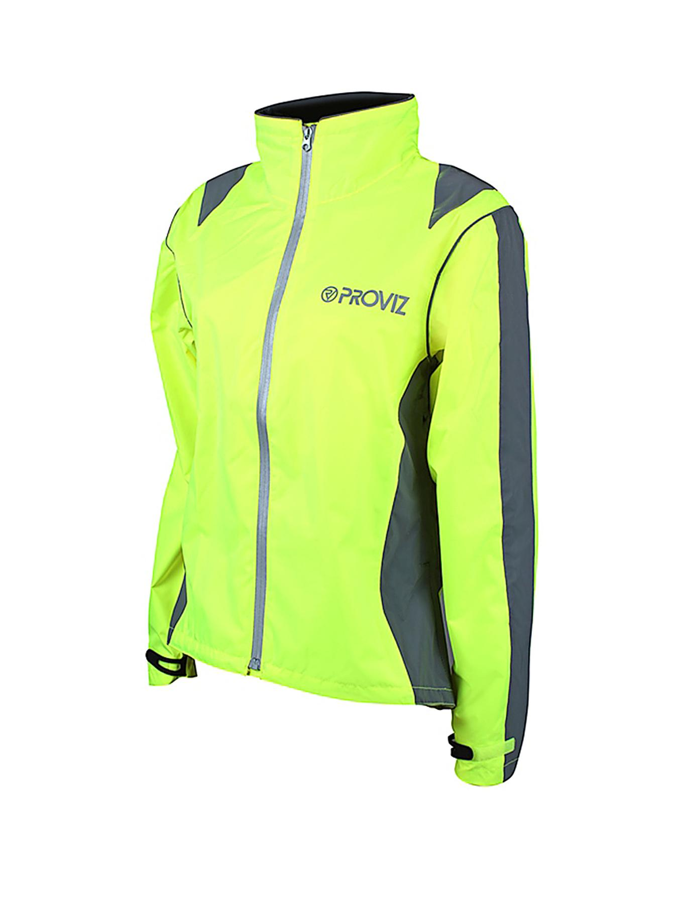 PROVIZ Ladies Waterproof Cycling Jacket - Yellow - Yellow, Yellow