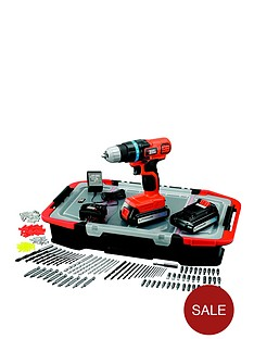 black-decker-egbl18bast-gb-18-volt-lithium-ion-drill-driver-with-2-batteries-165-accessories-and-kitbox-free-prize-draw-entry