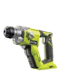 ryobi-18-volt-sds-4-mode-hammer-drill-without-18v-one-battery