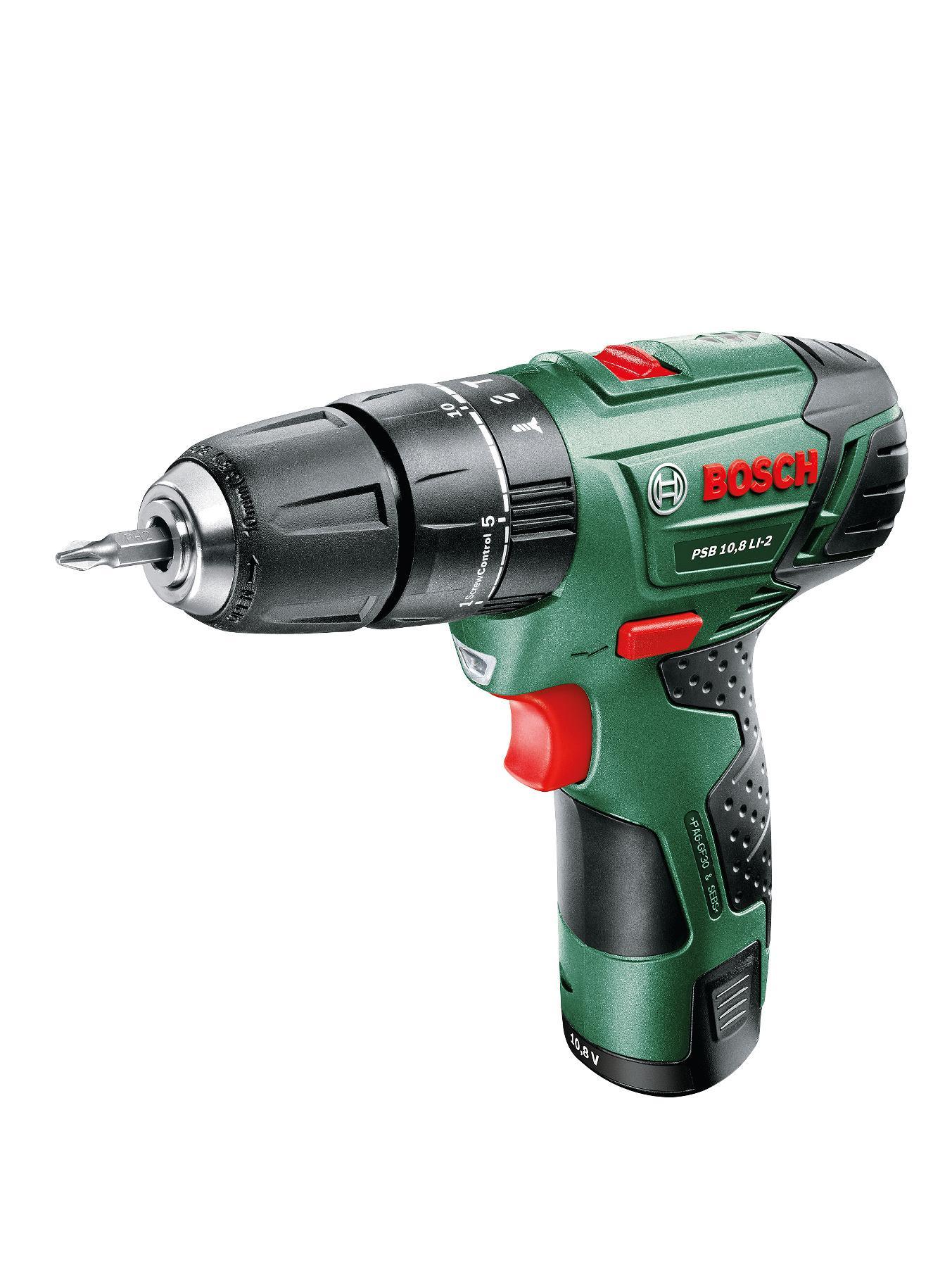 Bosch PSB 10.8 LI-2 Lithium ION Hammer Drill