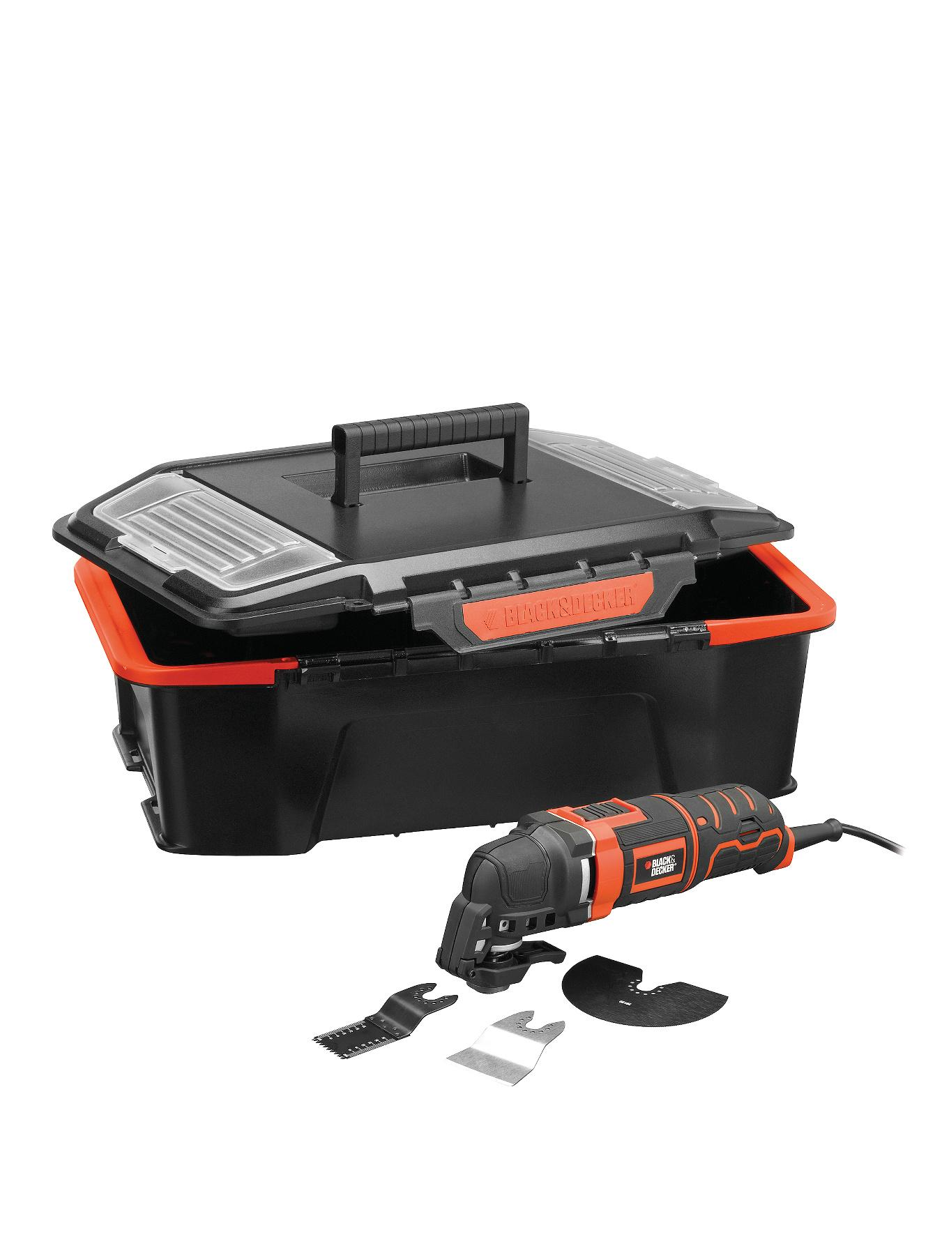 Black & Decker MT300AST2-GB 300 Watt Oscillating Multi Tool