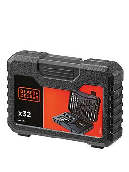 black-decker-a7216-xj-32-piece-drilling-and-screw-driving-set-with-kitbox