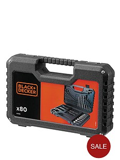 black-decker-a7219-xj-80-piece-drilling-and-screw-driving-set-with-kitbox