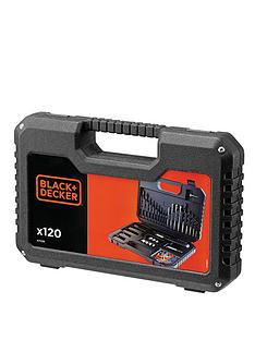 black-decker-a7220-xj-120-piece-drilling-and-screw-driving-set-free-prize-draw-entry