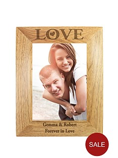 personalised-love-wooden-photo-frame