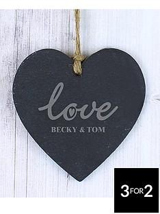 personalised-love-slate-heart