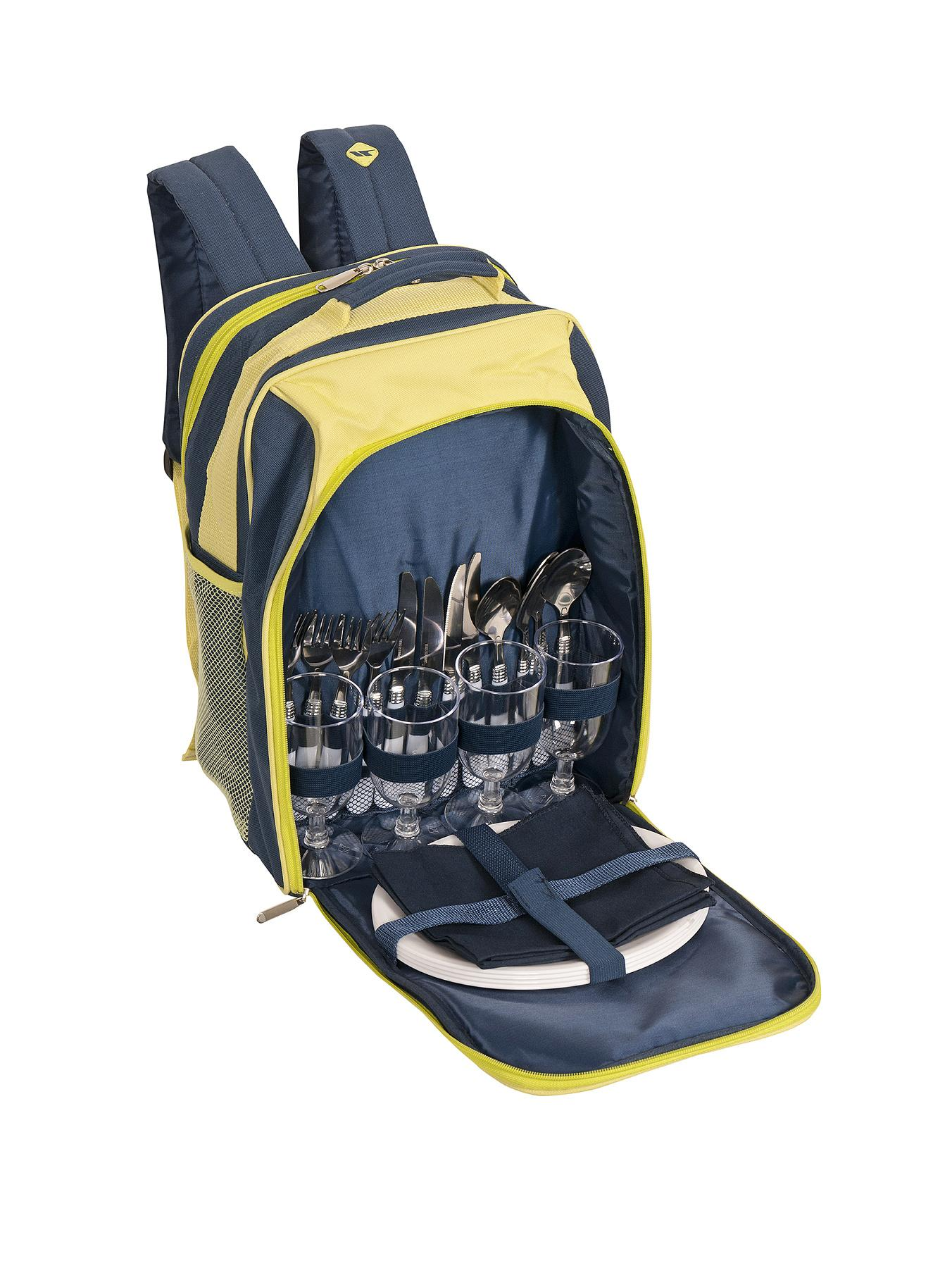 Trespass Nicpic 4-Person Picnic Rucksack