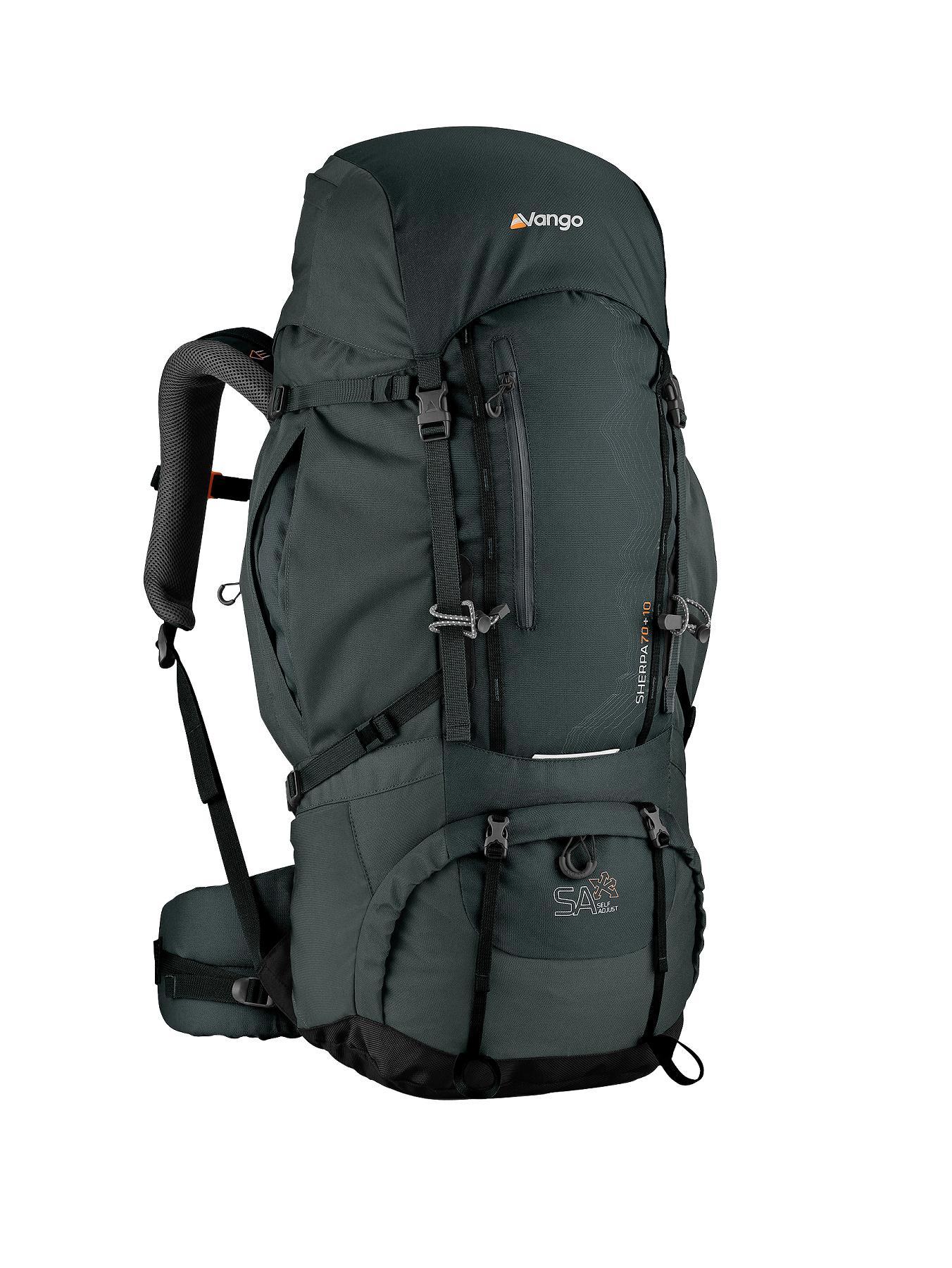 Vango Sherpa 70 + 10-Litre Rucksack