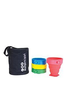 yellowstone-set-of-4-folding-silicone-mugs