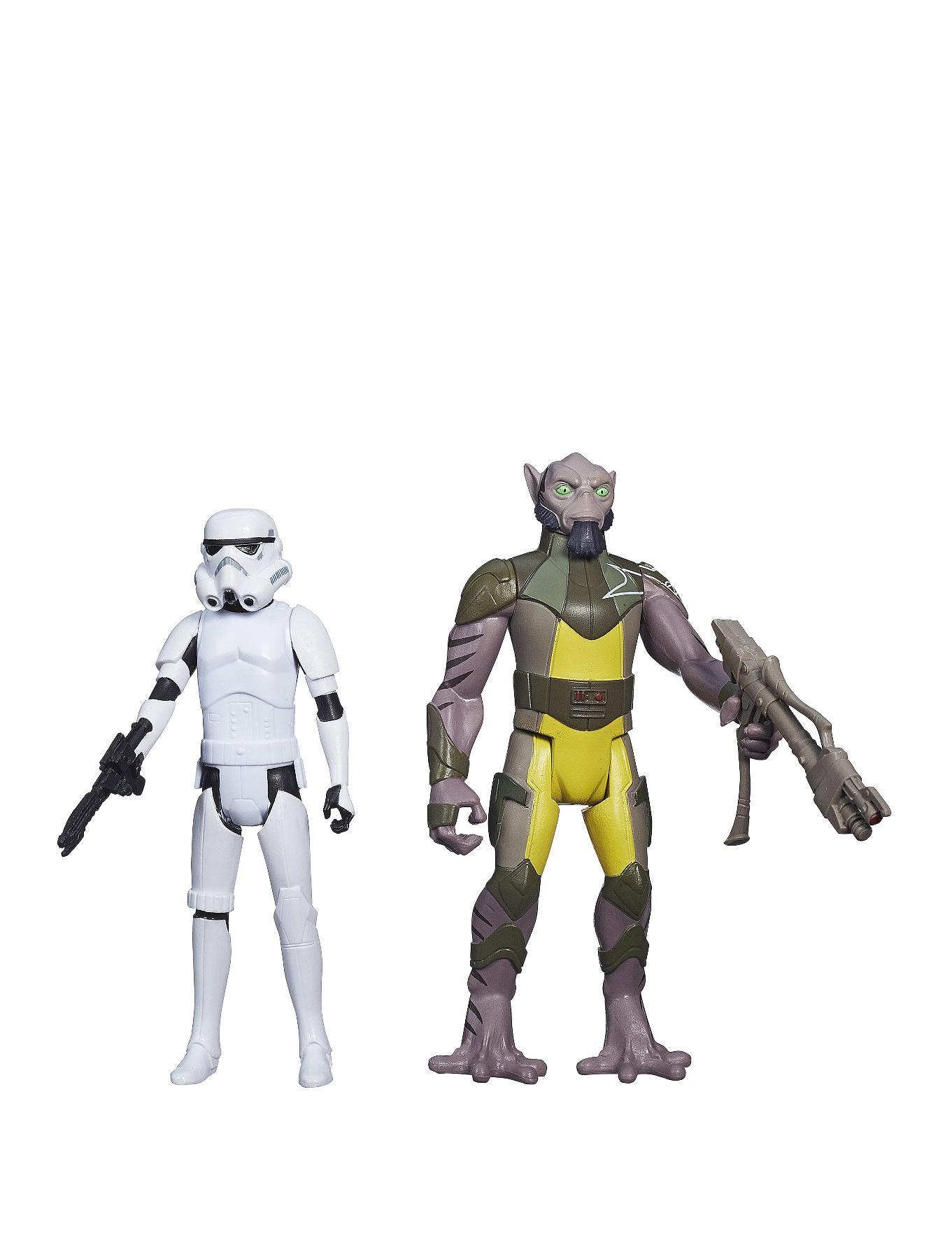 Star Wars Mission Series Figure - Zeb & Stormtrooper