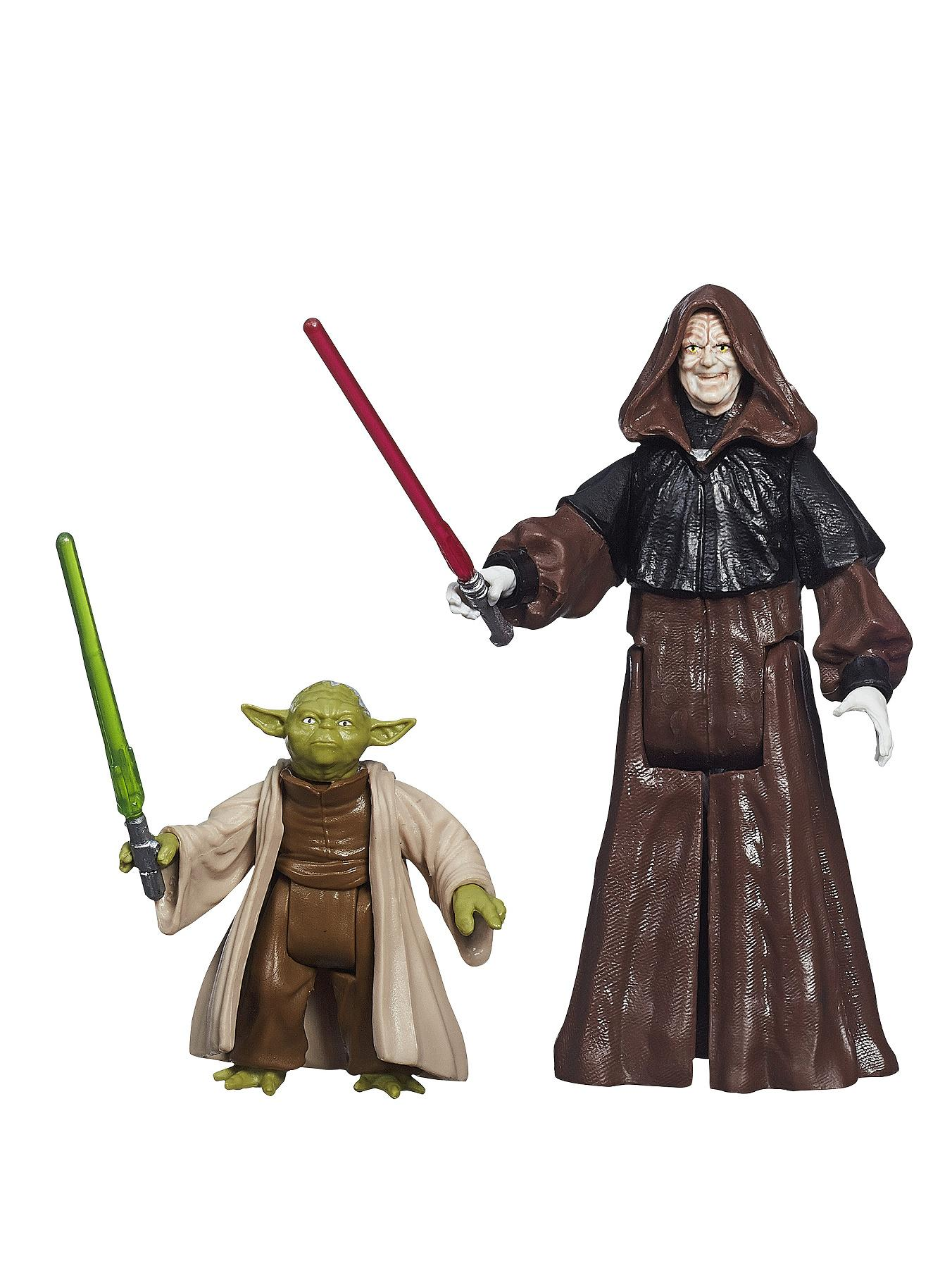 Star Wars Mission Series Figure - Episode 2 Yoda & Darth Sidious