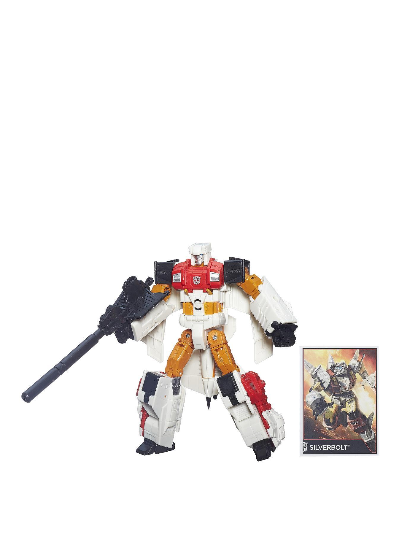 Transformers Generations Combiner Wars Voyager Class Figure - Silverbolt