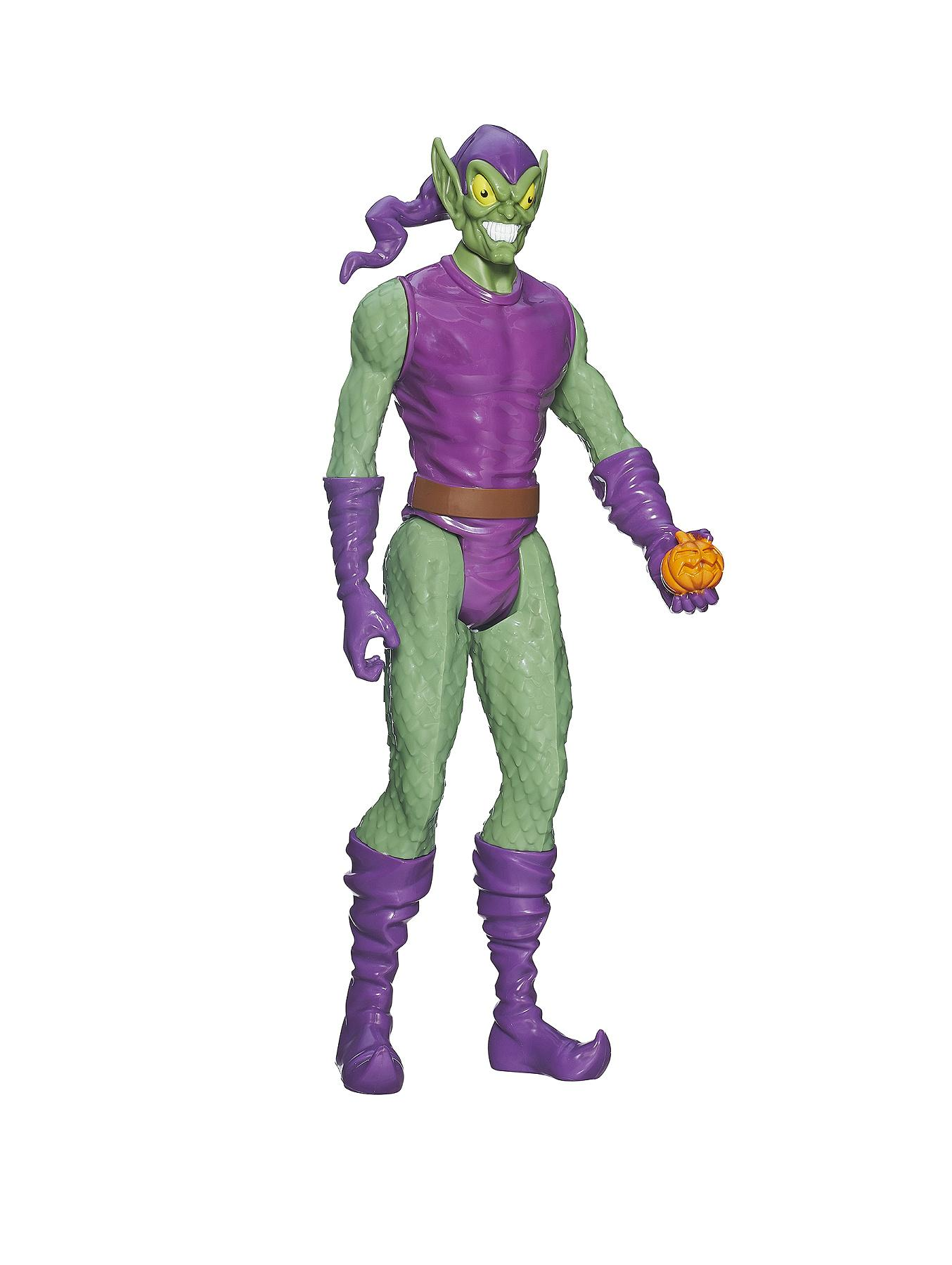 Spiderman Marvel Ultimate Spiderman Titan Hero Series - Green Goblin Figure
