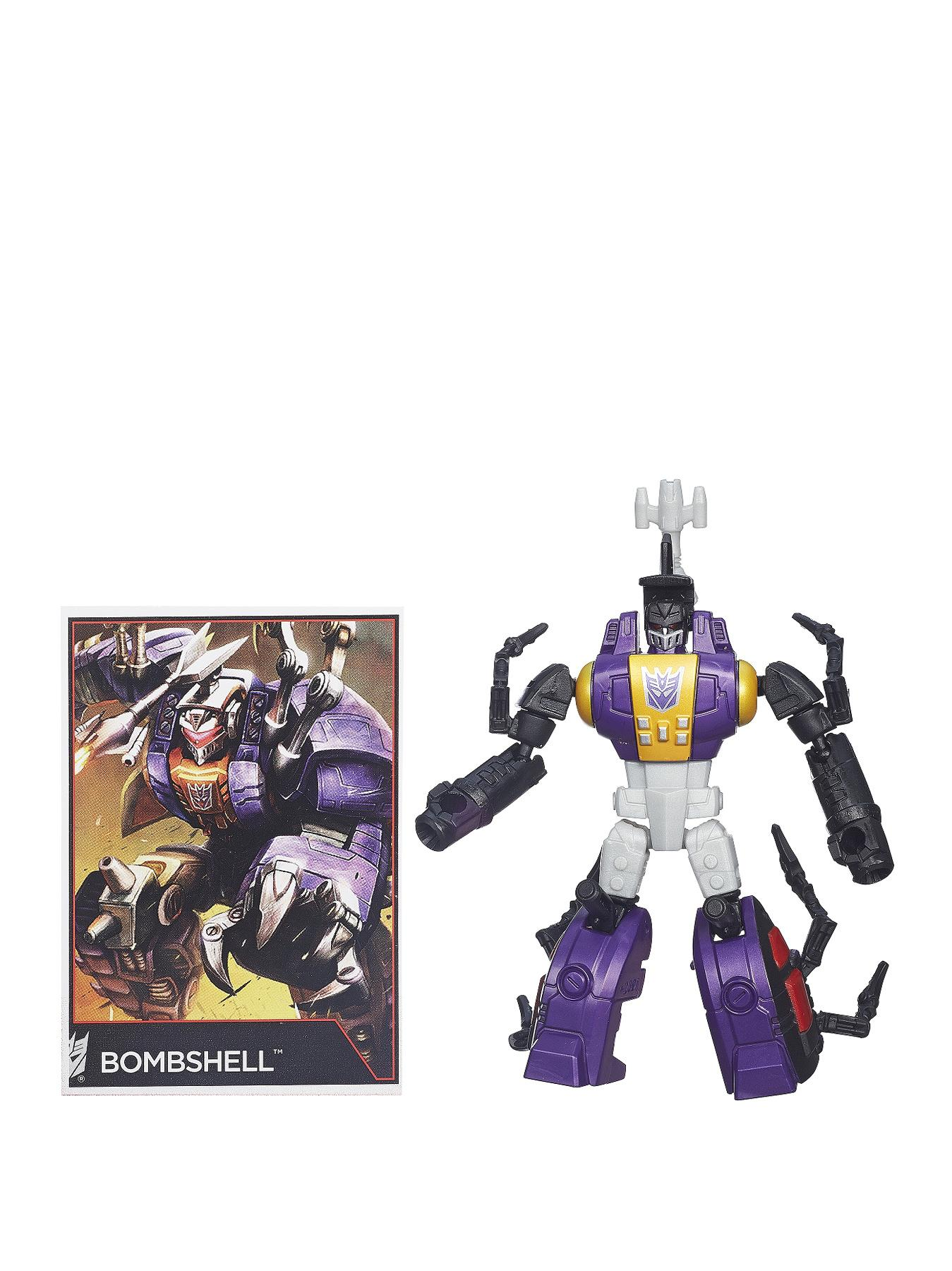 Transformers Generations Legends Class Insecticon Figure - Bombshell