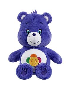 care-bears-medium-plush-harmony-bear-with-dvd