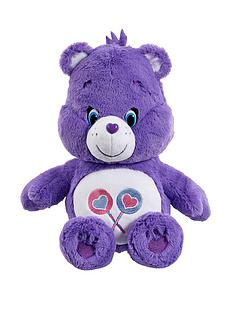 care-bears-medium-plush-share-bear-with-dvd