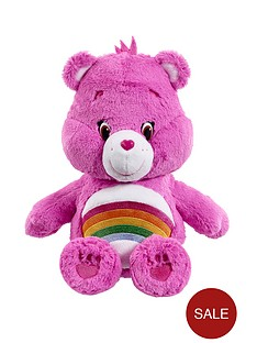 care-bears-medium-plush-cheer-bear-with-dvd