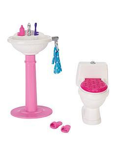 barbie-toilet-set