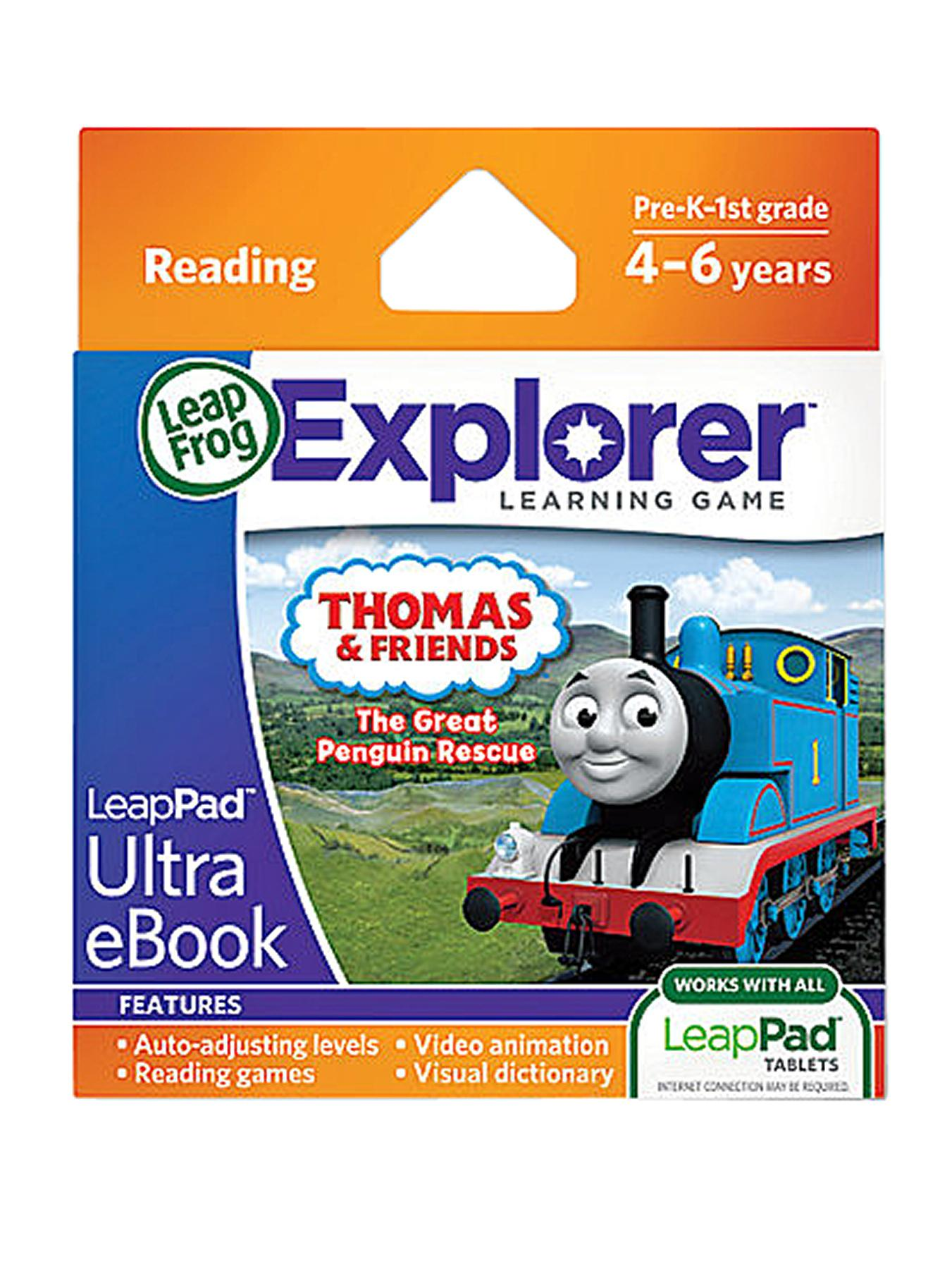 LeapFrog LeapPad Interactive Storybook Adventure Builder: Thomas and Friends: The Great Penguin Rescue