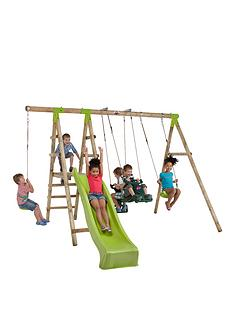 plum-muriqui-wooden-swing-set