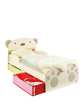 Hello Home Bear Hug Toddler Bed With Storage Drawers
