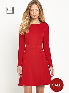 definitions-long-sleeve-lace-insert-dress