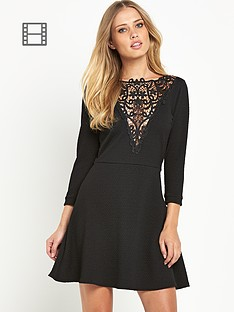 definitions-jacquard-lace-insert-dress