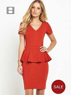 definitions-peplum-dress
