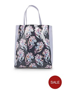 french-connection-floral-shopper